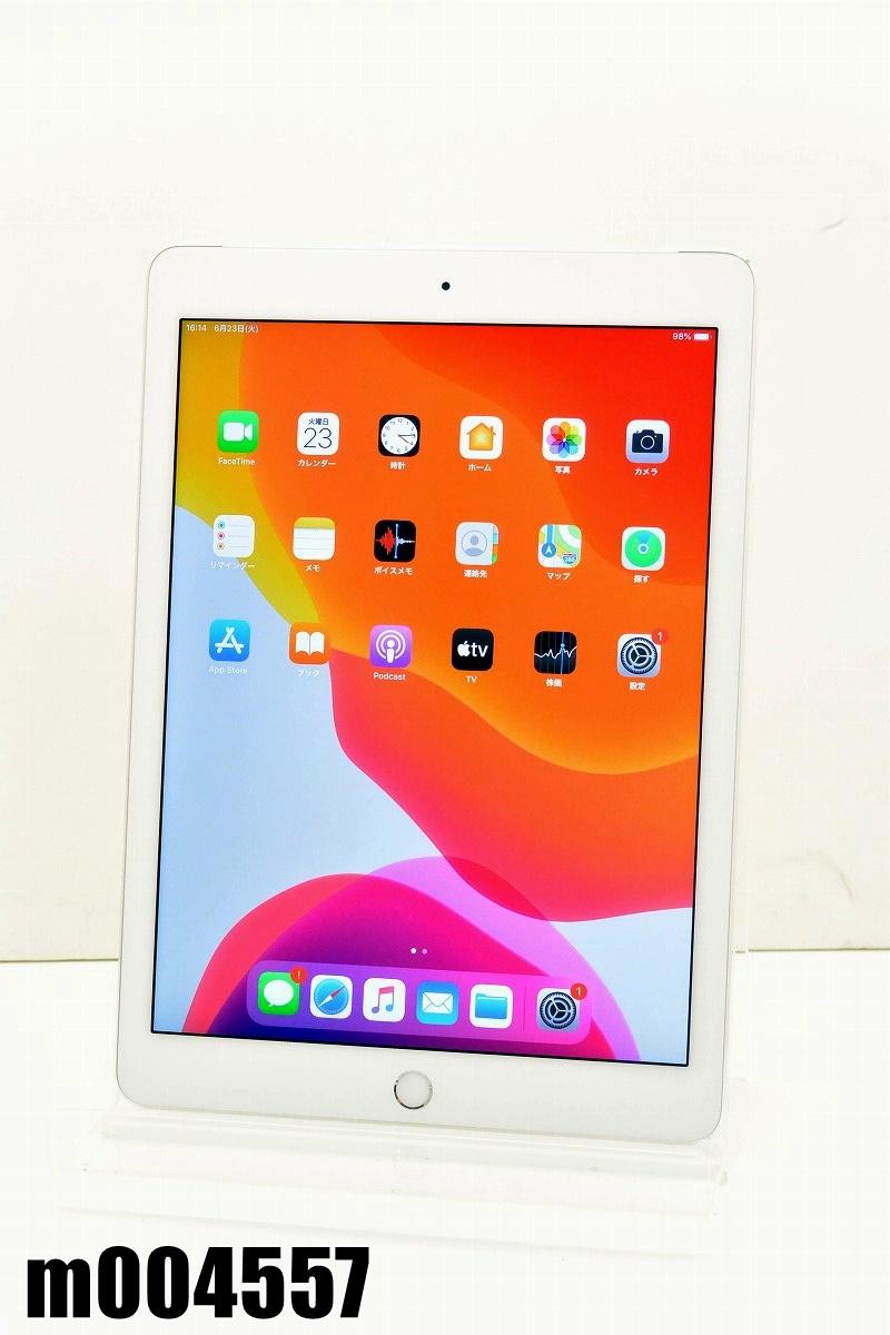 白ロム SoftBank SIMロック中 Apple iPad Air2+Cellular 32GB iOS13.4 Silver NNVQ2J/A 初期化済 【m004557】 【中古】【K20200624】