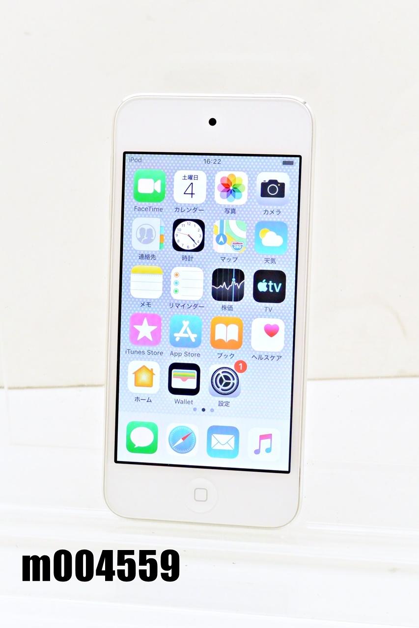 Wi-Fiモデル Apple iPod touch 第6世代 32GB iOS12.4.7 シルバー MKHX2J/A 初期化済 【m004559】 【中古】【K20200706】