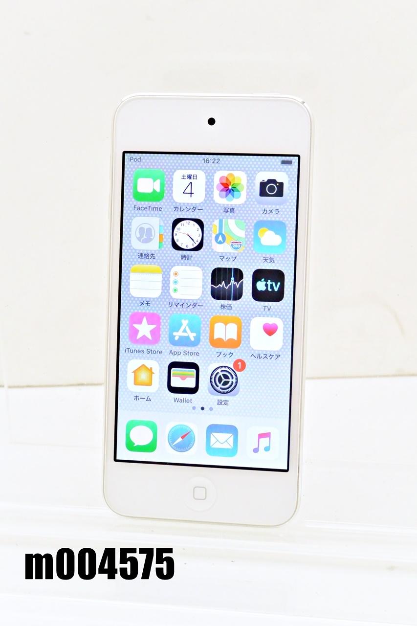 Wi-Fiモデル Apple iPod touch 第6世代 32GB iOS12.4.7 シルバー MKHX2J/A 初期化済 【m004575】 【中古】【K20200706】