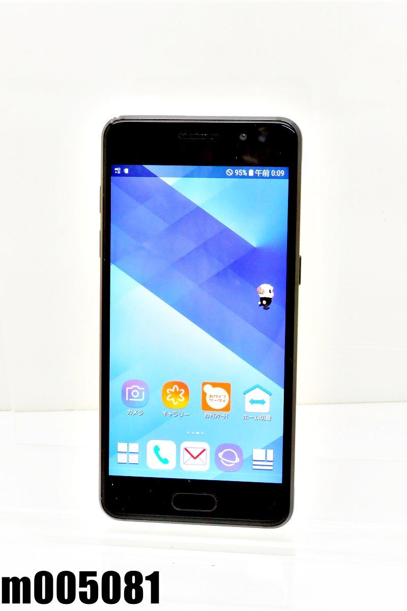 白ロム SIMフリー docomo SIMロック解除済 SAMSUNG Galaxy Feel 32GB Android8 Indigo Black SC-04J 初期化済 【m005081】 【中古】【K20200808】