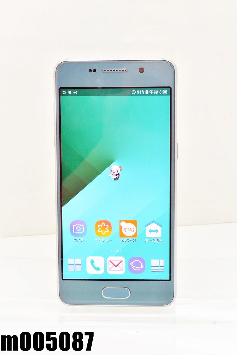 白ロム SIMフリー docomo SIMロック解除済 SAMSUNG Galaxy Feel 32GB Android8 Aurora Green SC-04J 初期化済 【m005087】 【中古】【K20200808】