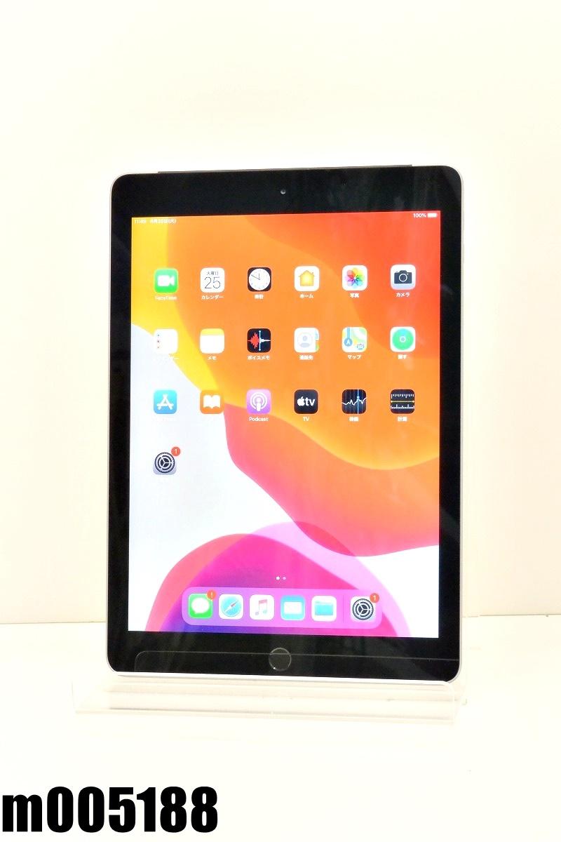 白ロム SIMフリー au SIMロック解除済 Apple iPad5 Wi-Fi+Cellular 128GB iPadOS13.5.14 スペースグレイ MP262J/A 初期化済 【m005188】 【中古】【K20200825】