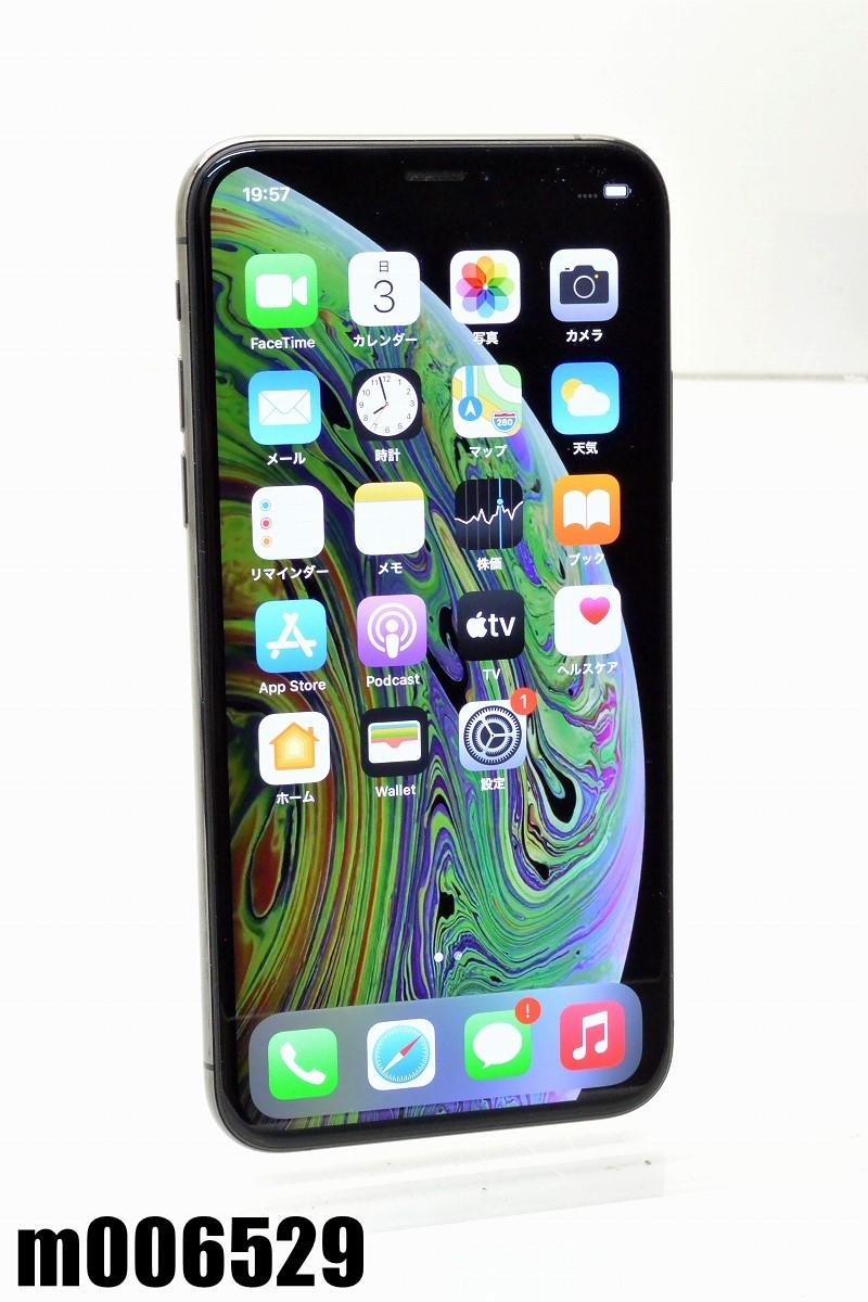 白ロム SIMフリー docomo セール 特集 SIMロック解除済 Apple iPhoneXs 256GB iOS14.2 K20210104 中古 初期化済 m006529 スペースグレイ 期間限定 A MTE02J