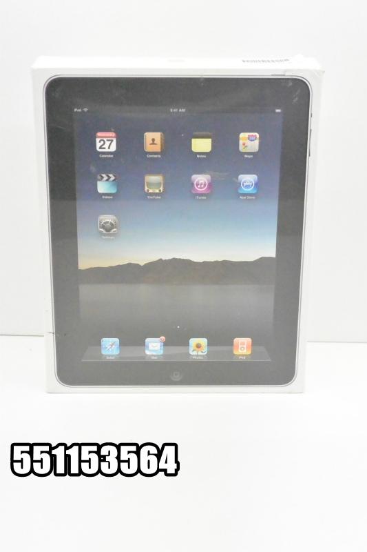 Wi-Fiモデル apple iPad(初代) 64GB iOS未開封のため不明 ブラック MB294J 初期化済 【551153564】 【中古】【K20180810】
