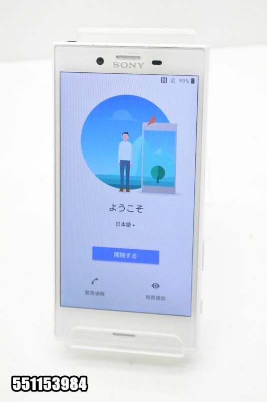 白ロム docomoSIMロック解除済み SONY Xperia X Compact 32GB Android8 Mist Blue SO-02J 初期化済 【551153984】 【中古】【K20181019】