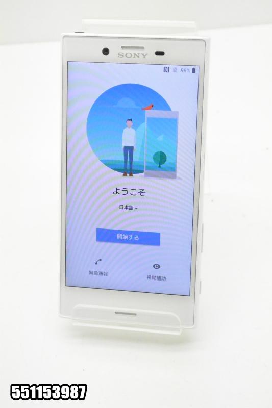 白ロム docomoSIMロック解除済み SONY Xperia X Compact 32GB Android8 Mist Blue SO-02J 初期化済 【551153987】 【中古】【K20181019】