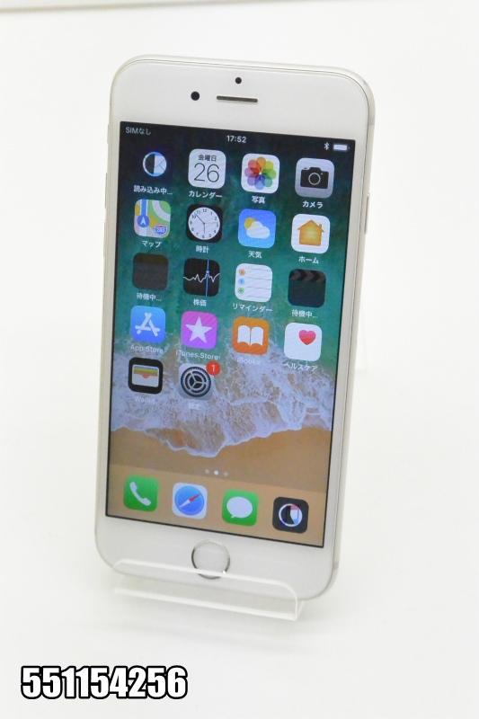 白ロム docomo Apple iPhone 6s iOS シルバー MKQK2J/A 初期化済 【551154256】 【中古】【K20181027】