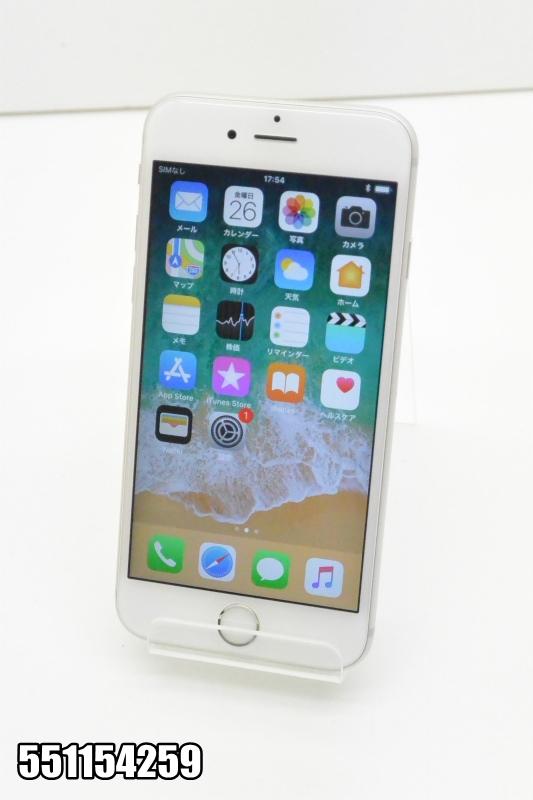 白ロム docomo Apple iPhone 6s iOS シルバー MKQK2J/A 初期化済 【551154259】 【中古】【K20181027】