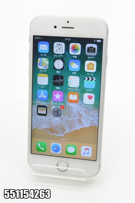 白ロム docomo Apple iPhone 6s iOS シルバー MKQK2J/A 初期化済 【551154263】 【中古】【K20181027】