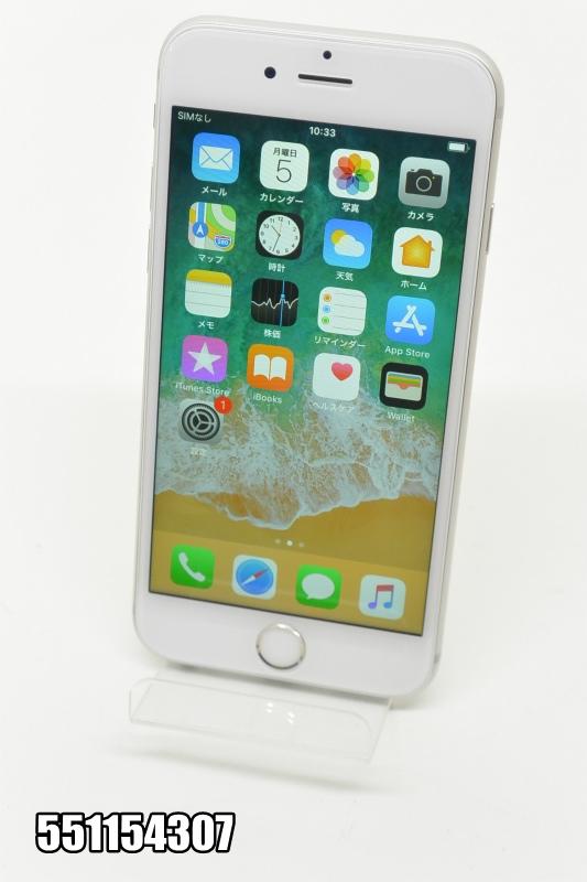 SIMフリー Apple iPhone 6s 16GB iOS11.4 シルバー MKT82LL/A 初期化済 【551154307】 【中古】【K20181106】