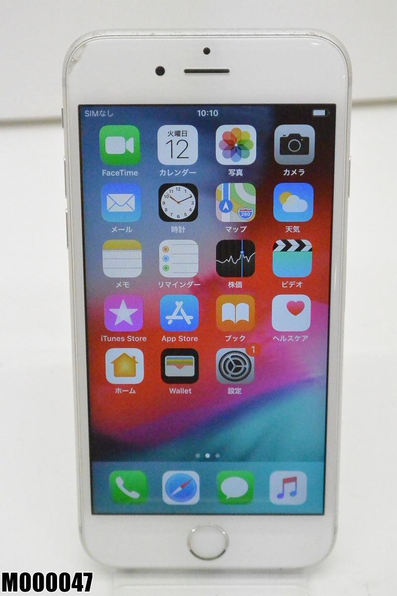 白ロム au Apple iPhone 6s 16GB iOS12.0.1 Silver MKQK2J/A 初期化済 【M000047】 【中古】【K20190219】