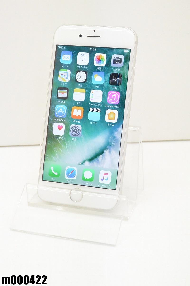 白ロム SoftBank Apple iPhone 6 64GB iOS10.2 Silver MG4H2J/A 初期化済 【m000422】 【中古】【K20190326】