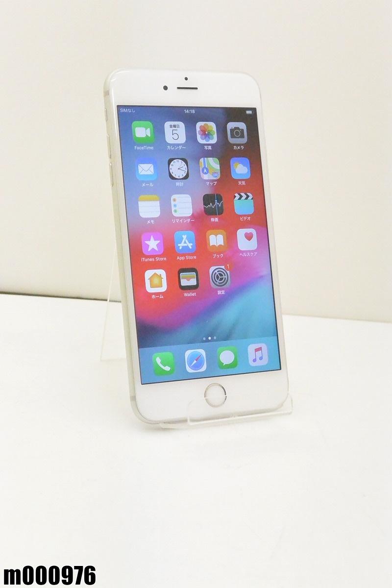 白ロム au Apple iPhone 6s Plus 32GB iOS12.2 Silver MN2W2J/A 初期化済 【m000976】 【中古】【K20190410】