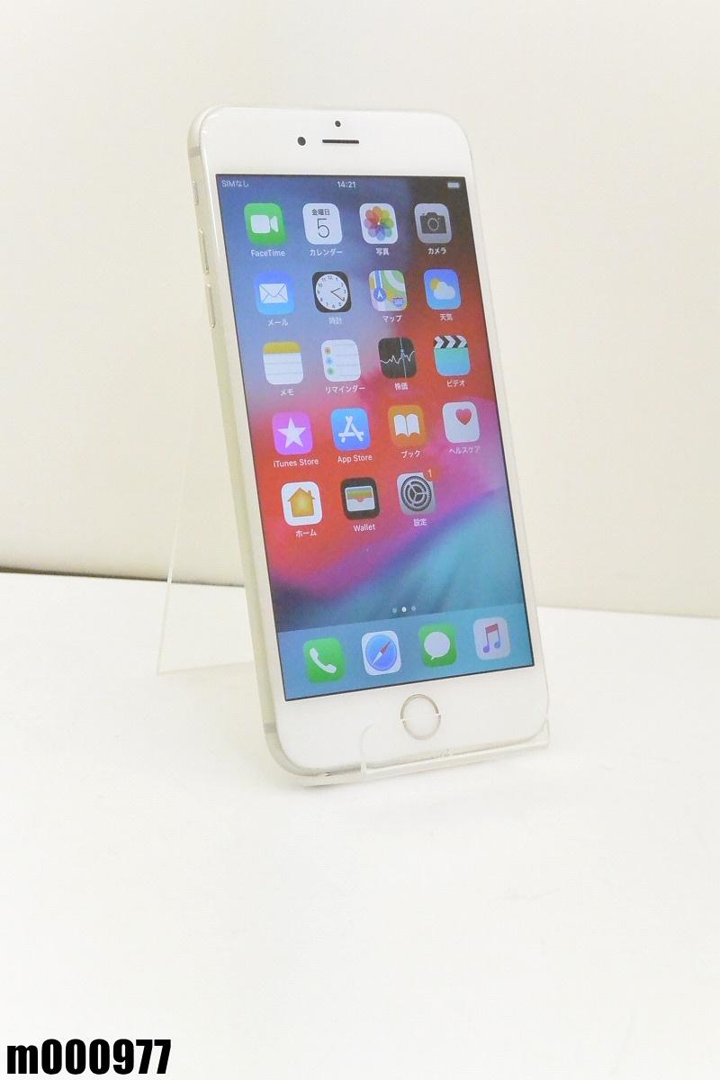 白ロム au Apple iPhone 6s Plus 32GB iOS12.2 Silver MN2W2J/A 初期化済 【m000977】 【中古】【K20190410】