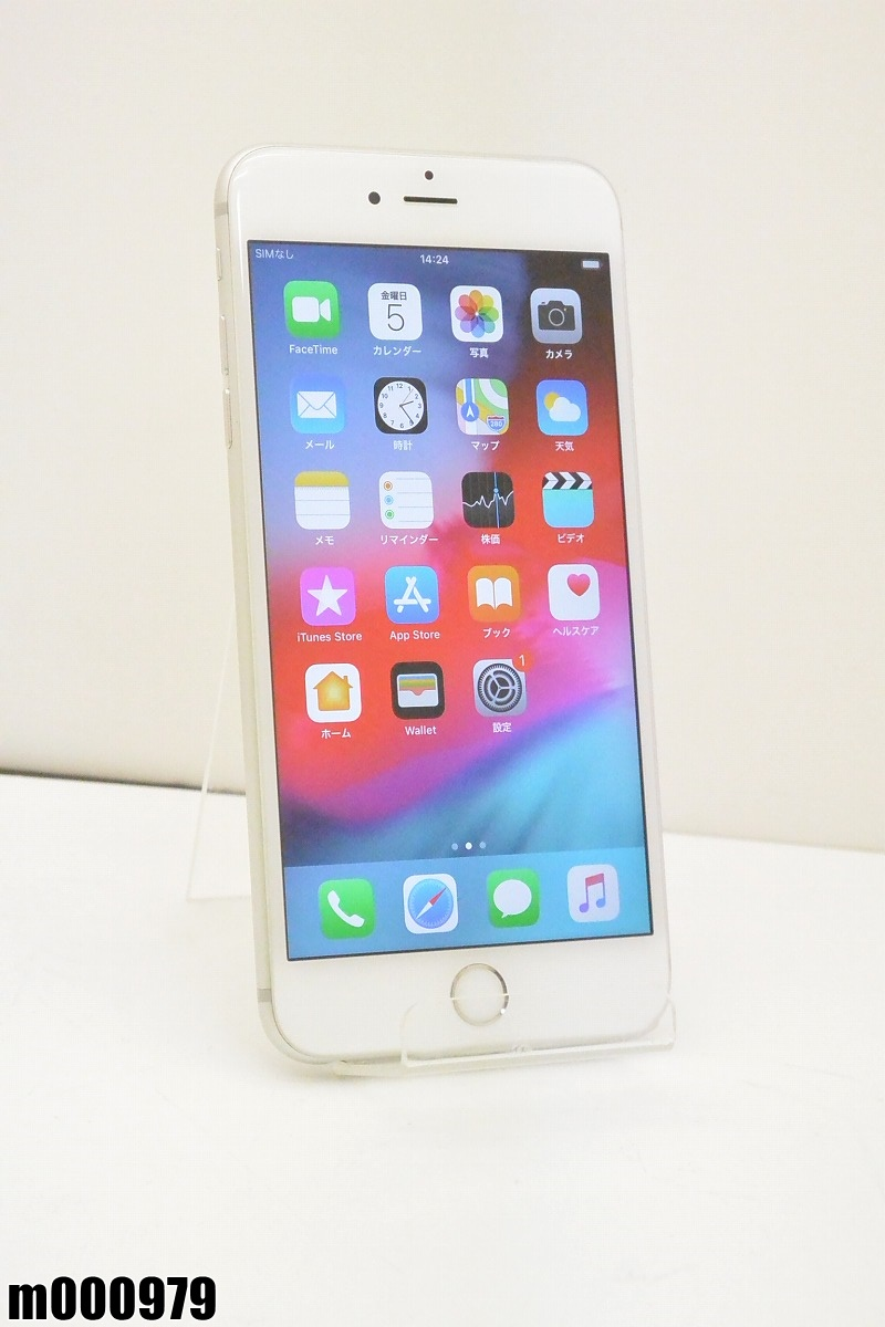白ロム au Apple iPhone 6s Plus 32GB iOS12.2 Silver MN2W2J/A 初期化済 【m000979】 【中古】【K20190410】