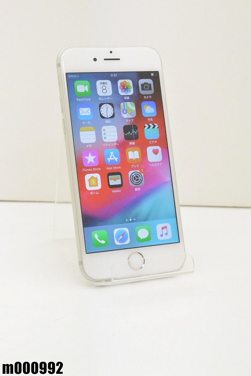白ロム au Apple iPhone 6s 16GB iOS12.2 Silver MKQK2J/A 初期化済 【m000992】 【中古】【K20190410】