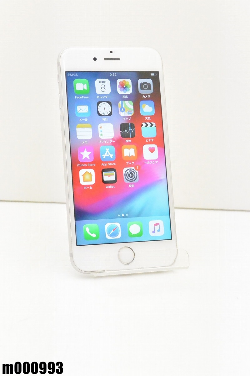 白ロム au Apple iPhone 6s 16GB iOS12.2 Silver MKQK2J/A 初期化済 【m000993】 【中古】【K20190410】