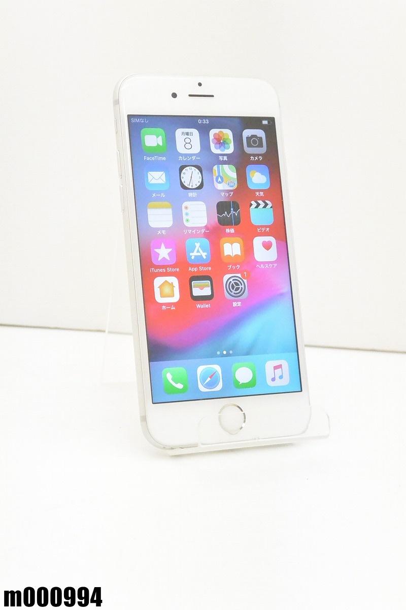 白ロム SIMロック解除済 Apple iPhone 6s 16GB iOS12.2 Silver MKQK2J/A 初期化済 【m000994】 【中古】【K20190410】