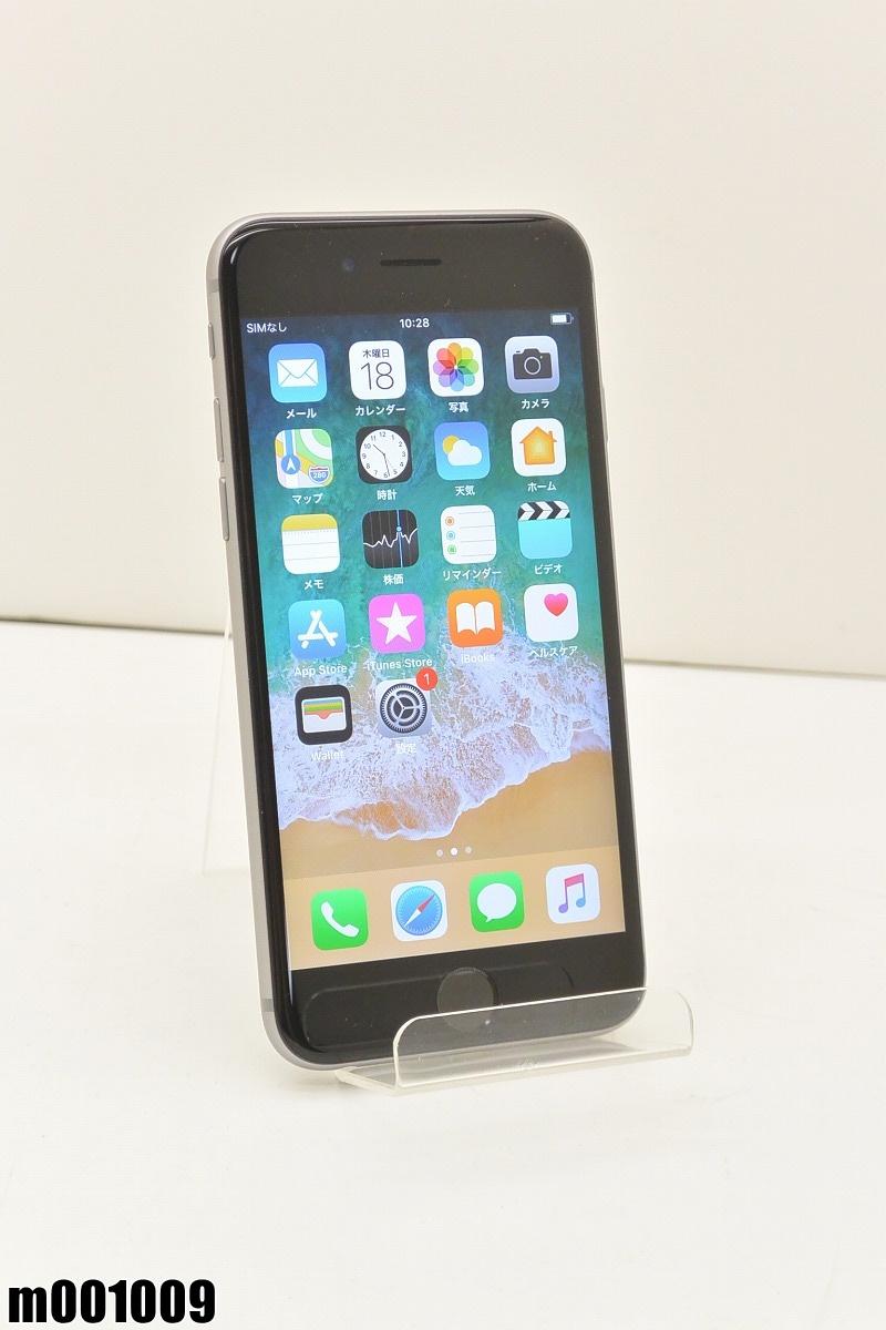 白ロム au Apple iPhone 6s 32GB iOS11.0.1 Space Gray MN0W2J/A 初期化済 【m001009】 【中古】【K20190420】