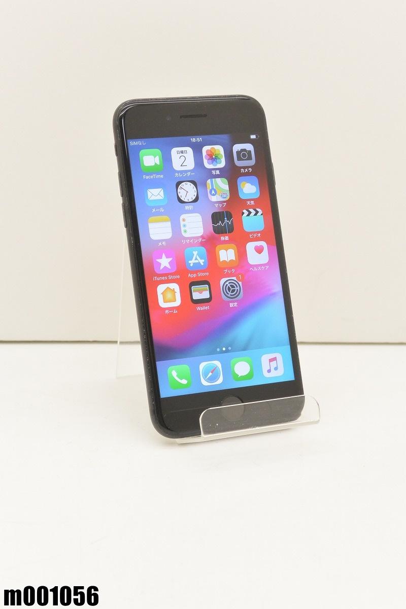 白ロム SIMロック解除済 Apple iPhone7 32GB iOS12.2 Black MNCE2J/A 初期化済 【m001056】 【中古】【K20190606】