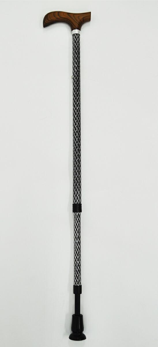 ウェルファン 夢ライフステッキ ルミエ [杖/歩行・移動/一本杖/軽量](009756)