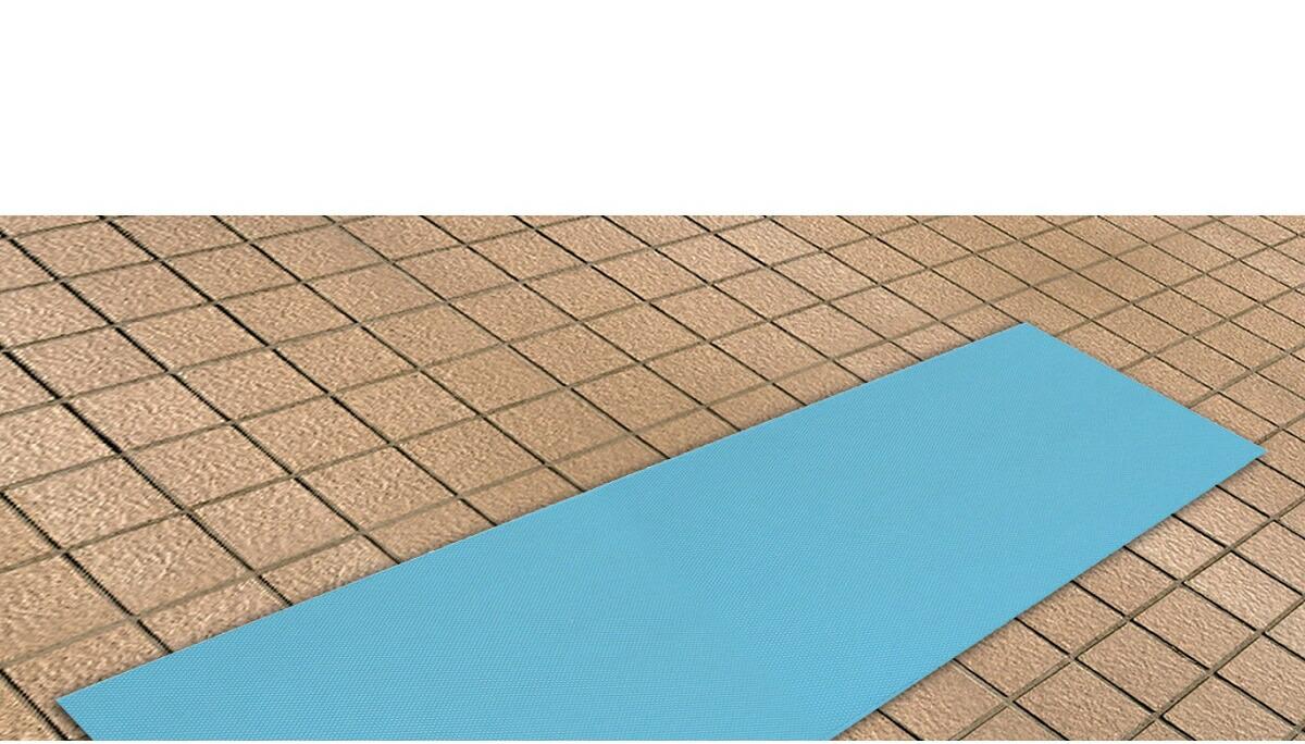 シンエイテクノ ダイヤロングマット SL1.5(1.5m×50cm)長尺滑り止めマット【お風呂·洗面所·トイレ】水切れが良く、乾きやすく清潔【送料無料】(462002)