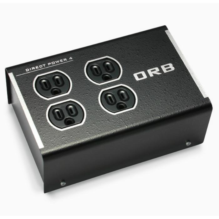フィルターレスのダイレクト接続により、ダイレクトかつダイナミックな音を再現した電源タップ 電源タップORB DP-4i R(4個口/ロジウムメッキモデル)