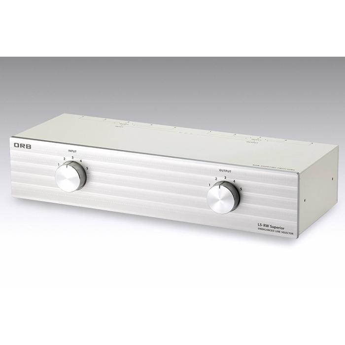RCAケーブル 5chラインセレクター(5系統入力/5系統出力)タイプORB LS-RW Superior