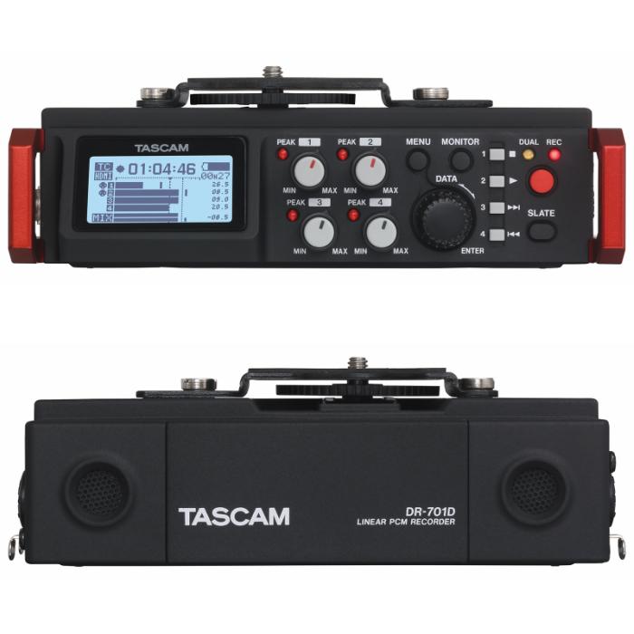 フィールド ビデオレコーダー シリーズ最上位モデルHDMI搭載 アンビソニックマイク対応24bit 192kHz対応 DR-701D 6トラック同時録音 カメラ用リニアPCMレコーダー ハイクオリティ ミキサーTASCAM 4tr+2mix 開店記念セール