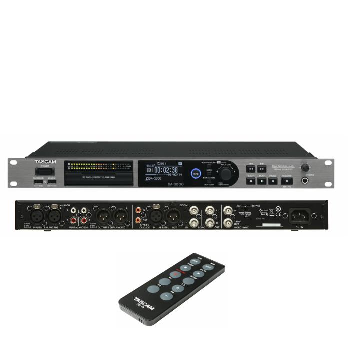 ステレオマスターレコーダー/ADDA コンバーターTASCAM DA-3000