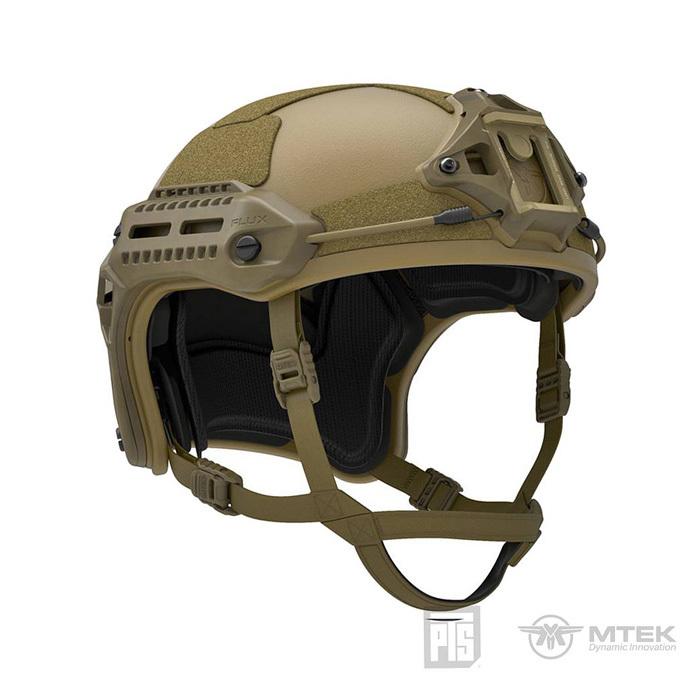 【送料無料】PTS MTEX-FLUXヘルメット フリーサイズ・TANカラー