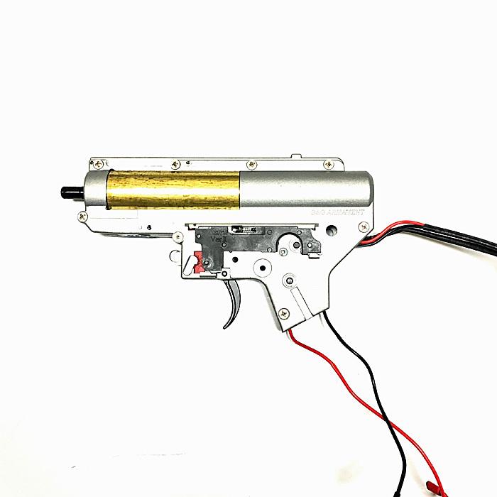 【送料無料】【G&G ARMAMENT純正パーツ】G&G ARMAMENT Ver.2メカボックス+ETU+MOSFETセット(ギアボックスセット) 後方配線仕様 CM16 LMGバージョン M4/M16などのメカボックスセット