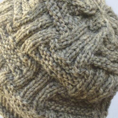 521eddee947 KeitoSemmonten Teamioenya  Weave Hat stay in basket-style knit hat ...