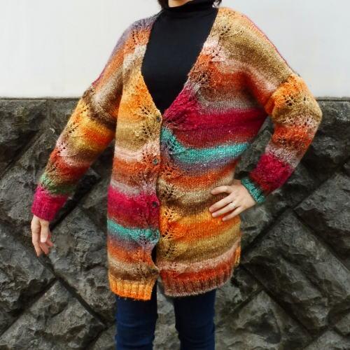20%OFF野呂英作のシルクガーデンで編むコーディガン 手編みキット 野呂英作 カーディガン