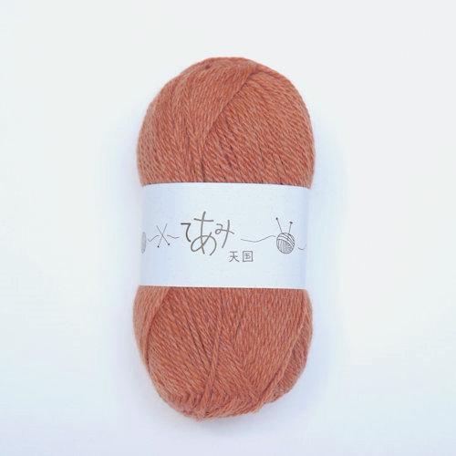 てあみ天国 アルパカ毛糸 かきいろ 編み物 手編み ペルー 定番から日本未入荷 アルパカ 全品最安値に挑戦 並太 毛糸
