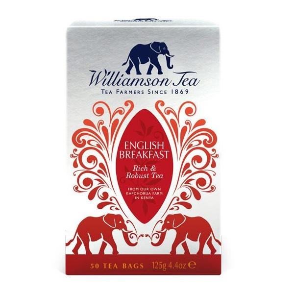 English Breakfast ウィリアムソン紅茶 イングリッシュブレックファースト イギリス直輸入紅茶 williamsontea