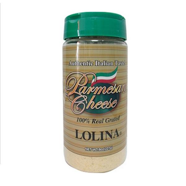 高品質 アメリカ直輸入 西洋料理 パスタ パルメザンチーズ85g ロリーナ 25%OFF