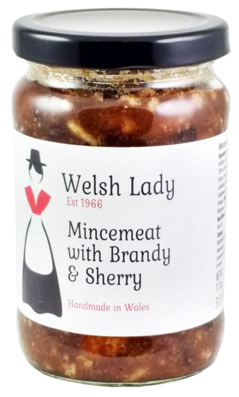 物品 ドライフルーツたっぷり ミンスパイ作りに 英国産 ウェルシュレディ ミンスミート Welsh Mincemeat with Brandy Lady sherry 引き出物