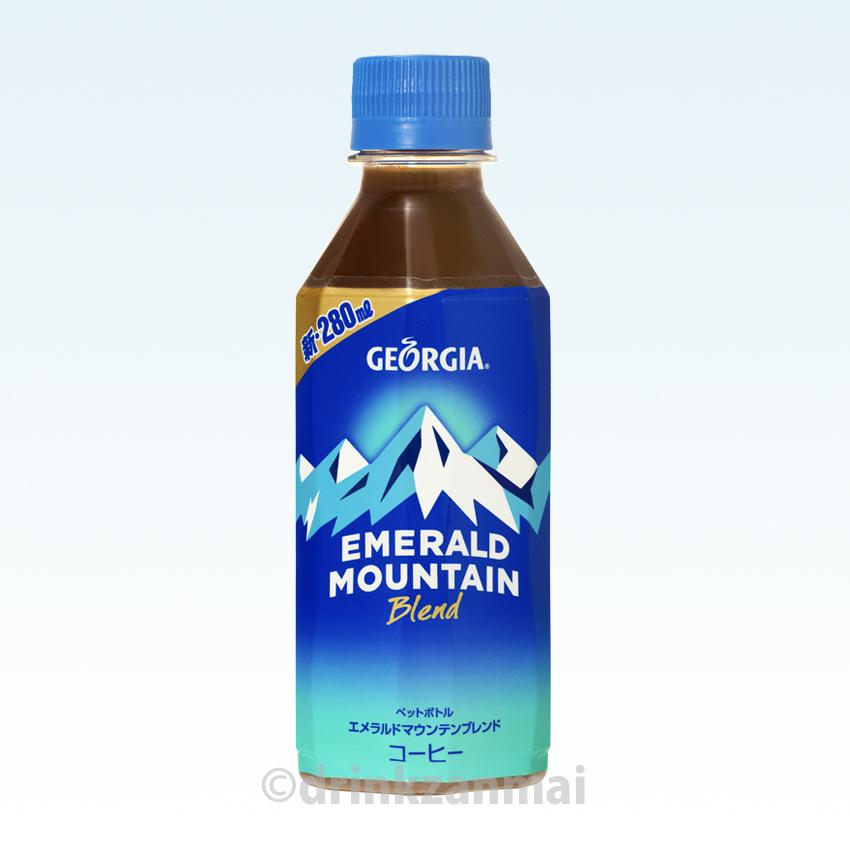 (可口可乐) 格鲁吉亚翡翠山混合 280 毫升苗条 PET 瓶 1 案例 24 书上 05P25Oct14