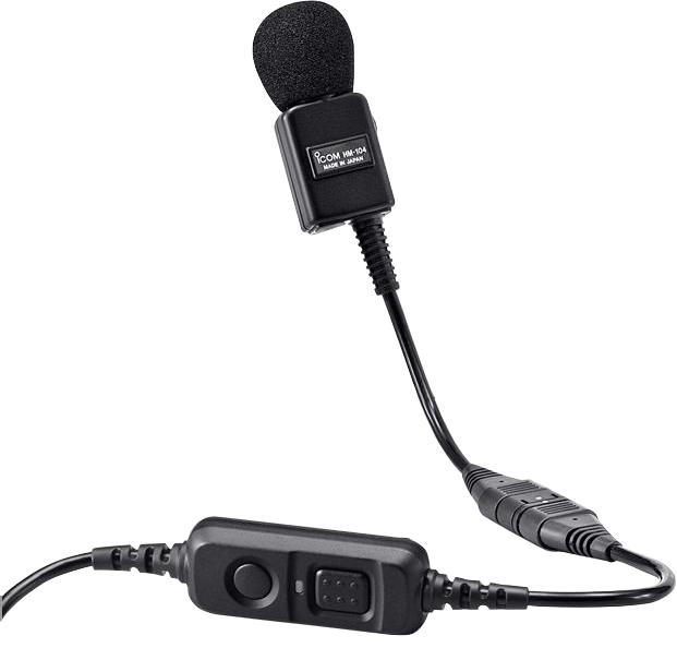 アイコム HM-104 単一指向性 タイピン型 マイクロホン iCOM | 無線機 免許不要 ICOM おすすめ 売れ筋 インカム 業務用無線機 デジタル簡易無線機 特定小電力トランシーバー 単体利用不可 接続ケーブル要 騒音