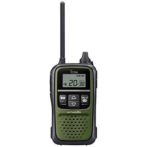 アイコム IC-4110 ダークグリーン トランシーバー インカム 最高クラスの大音量 | 無線機 免許不要 ICOM サバゲー サバイバルゲーム おすすめ 売れ筋 特定小電力トランシーバー 単三電池 3本 交互20ch 大音量 コンパクト 回転式アンテナ 軽量 400mW