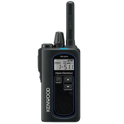 ケンウッド TPZ-D510 デジタル簡易無線登録局 HYPER DEMITOSS KENWOOD | 無線機 免許不要 ケンウッド インカム KENWOOD JVC おすすめ 売れ筋