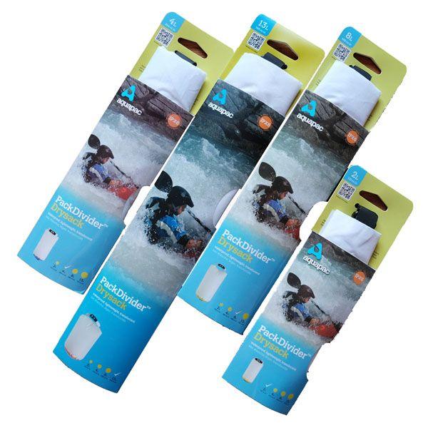 アクアパック パックディバイダー ドライサック 002 イエロー 2L aquapac | 防水 ケース スマートフォン スマホ マリン 川 海 湖 沢 滝 ウォーキング 自転車 水際 おすすめ 売れ筋
