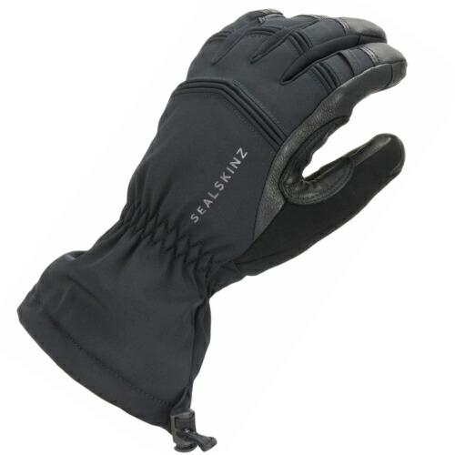 【全国送料無料】 SEALSKINZ Waterproof Extreme Cold Weather Gauntlet Black size-XL 12100063000140 │ シールスキンズ グローブ 手袋 XLサイズ