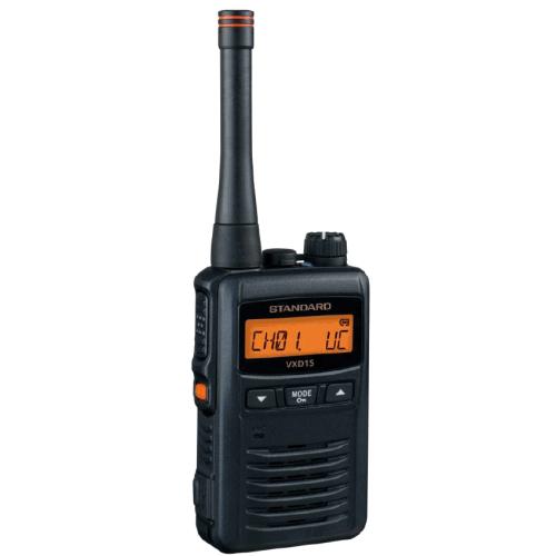 スタンダード VXD1S 1W デジタル簡易無線 ハイパワートランシーバー STANDARD インカム | 無線機 免許不要 八重洲無線 YAESU スカイスポーツ デジタル 簡易無線 上空 パラグライダー 防水 IP67 おすすめ 売れ筋 防災 防災無線 パラセイリング