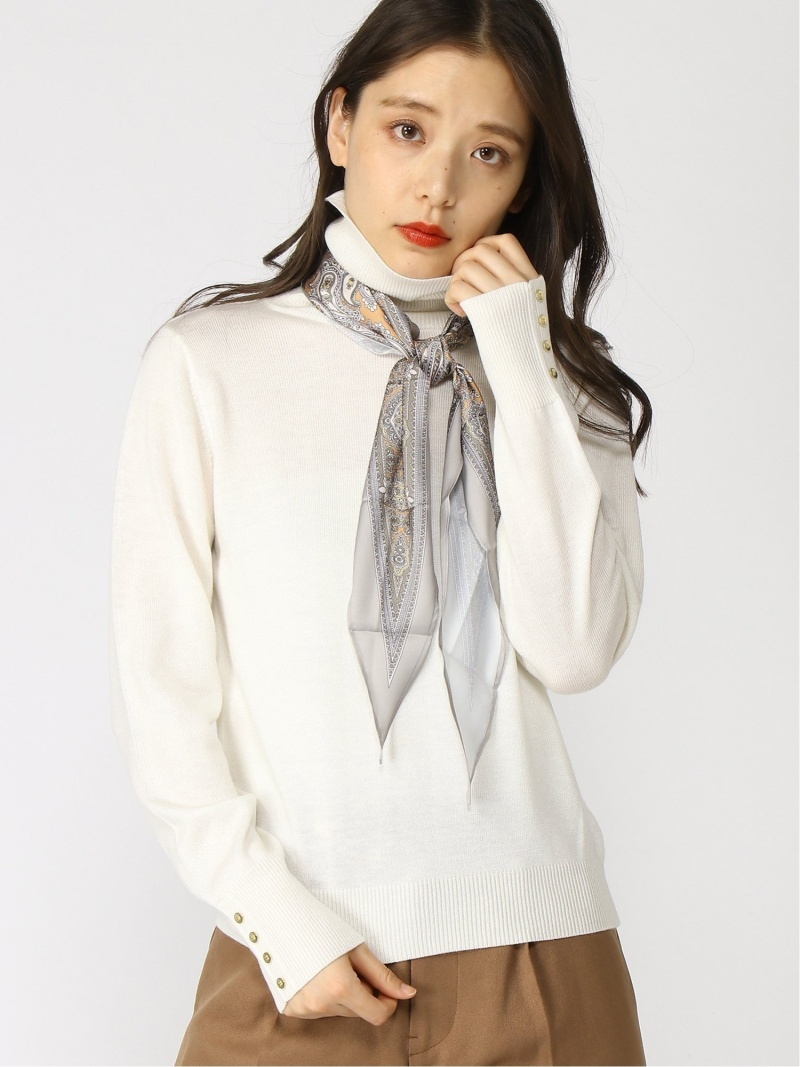送料無料/新品】 [Rakuten Fashion]Techichi/スカーフ付