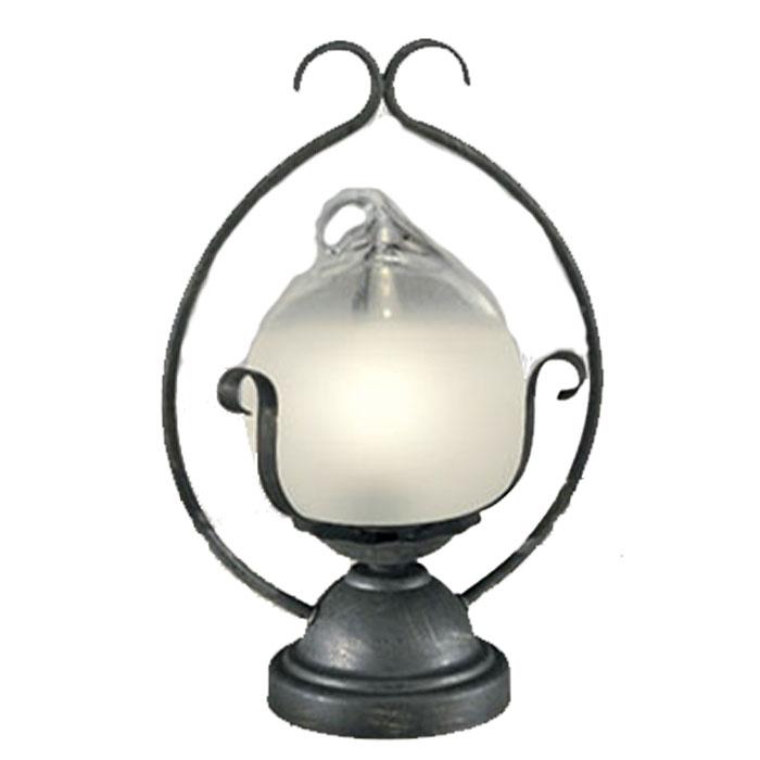 スタンド ODELICおしゃれ ガラス アンティーク電球色 LEDランプ
