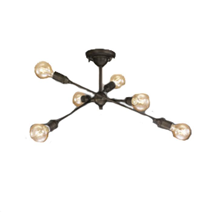 シャンデリア ODELICおしゃれ レトロ ヴィンテージ風 アンティーク~4.5畳 電球色 LEDランプ
