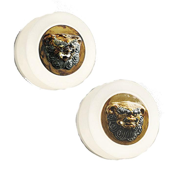 ポーチライト ODELICおしゃれ 電球色 LED 白熱灯50W相当 made in NIPPON 壺屋焼 シーサー 玄関灯 日本人の感性に響くあかりシリーズ