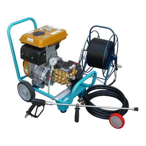 【代引不可】 【フルテック】エンジン式高圧洗浄機 GC1520L30D標 建築塗装・大型重機洗浄・配管洗浄等に活躍!! 30mドラム付! ※こちらの商品はメーカーより直送の為、代引き不可です